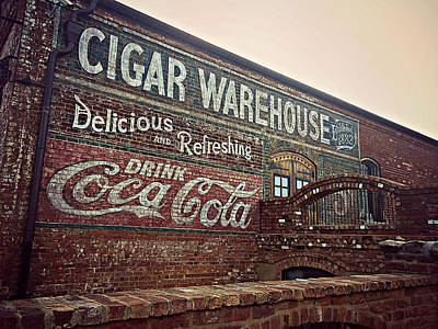Cigar Warehouse Greenville Sc Art Print
