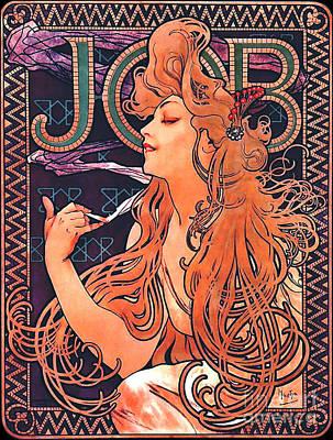Cigarette Ads Photograph - Cigarette Paper Ad C1900 by Padre Art