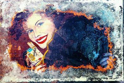 Smoker Painting - Cigarettes by Leon Bonaventura and Filiberto Bonaventura