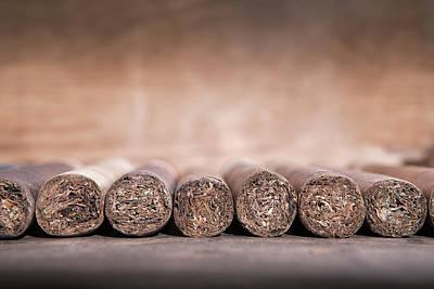 Photograph - Cigars by Andrey  Godyaykin