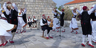 Photograph - Cilipi Folk Festival - Croatia by Phil Banks