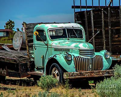 Photograph - Cima Truck by Stephen Whalen