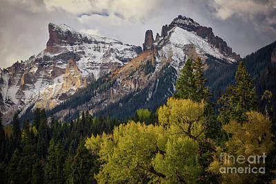 Photograph - Cimarron Mountain Sunlight by Doug Sturgess