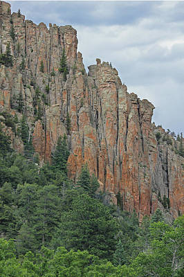 Photograph - Cimarron Palisades 2  by Ed  Cooper Photography