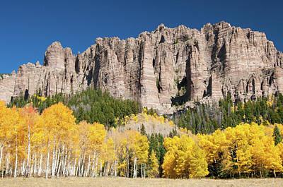 Photograph - Cimarron Pinnacles by Steve Stuller