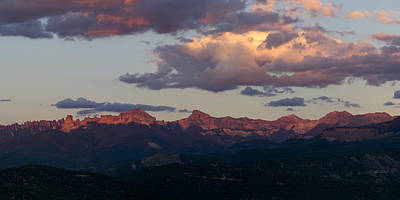 Photograph - Cimmaron Sunset Panorama by Aaron Spong