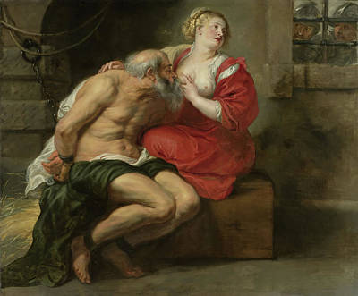 Prison Painting - Cimon And Pero - Roman Charity by Mountain Dreams