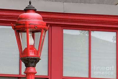 Photograph - Cinatown Streetlamp Vancouver by John  Mitchell