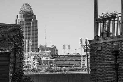 Photograph - Cincinnati And Building  by John McGraw