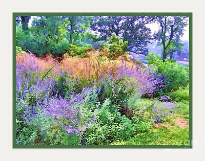 Photograph - Cincinnati Art Garden by Shirley Moravec