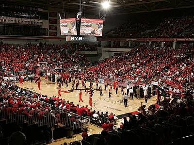 Cincinnati Bearcats Fifth Third Arena Art Print by Replay Photos