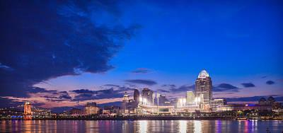 Photograph - Cincinnati Blues II by Keith Allen