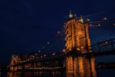 David Bowie - Cincinnati Bridge by Patrick Burke