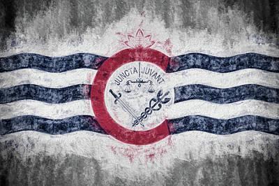 Digital Art - Cincinnati City Flag by JC Findley
