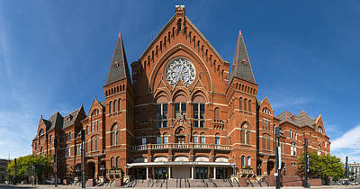 Cincinnati Music Hall Art Print by Rob Amend