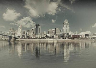 Photograph - Cincinnati Ohio Old School 2017 by Scott Meyer