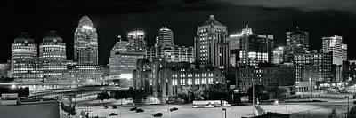 Photograph - Cincinnati Opposite View Pano by Frozen in Time Fine Art Photography