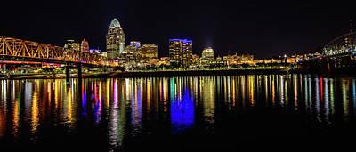 Photograph - Cincinnati Reflections by Erwin Spinner