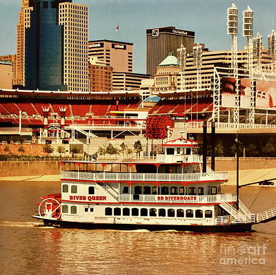 Photograph - Cincinnati Riverboat by The Art of Alice Terrill