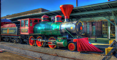 Photograph - The Connection Cincinnati Southern Chattanooga Choo Choo Train Art by Reid Callaway