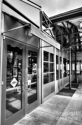 Photograph - Cincinnati's Findlay Market Bw by Mel Steinhauer