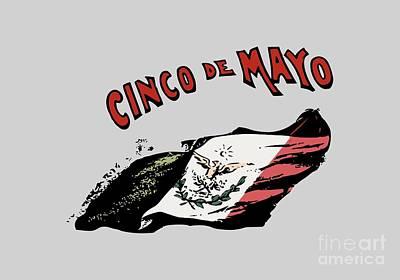 Cinco De Mayo Mixed Media - Cinco De Mayo by Frederick Holiday