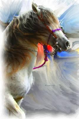 Cinco De Mayo Mixed Media - Cinco De Mayo Stallion by Donna Coupe