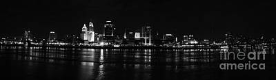 Photograph - Cincy From Covington by David Bearden