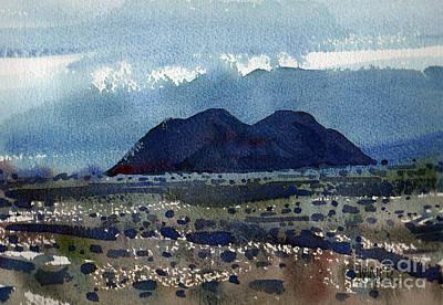 Cinder Cone Death Valley Original by Donald Maier