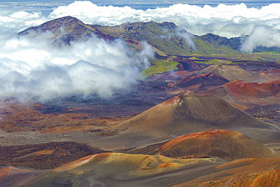Photograph - Cinder Cones - Haleakala by Pamela Showalter