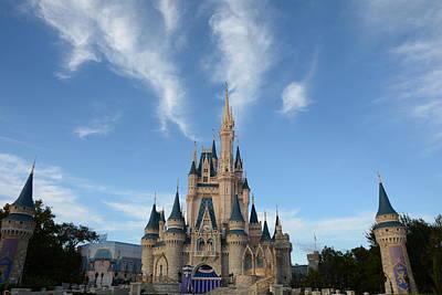 Disney Photograph - Cinderella Castle 2 by Zina Stromberg