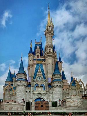 Photograph - Cinderella Castle by Chris Montcalmo