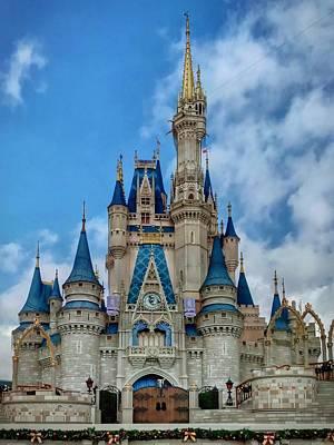Photograph - Cinderella Castle by Chris Montcalmo