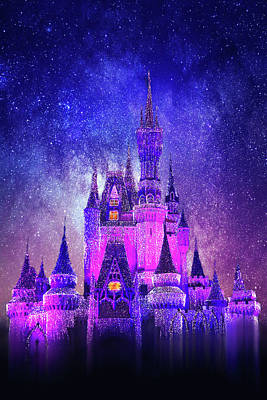 Photograph - Cinderella Castle by Iryna Goodall