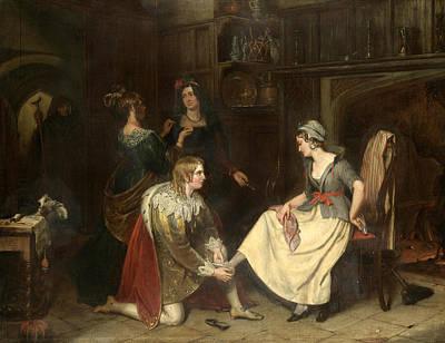 Painting - Cinderella by Charles Landseer