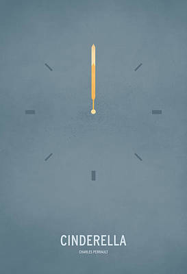 Minimal Wall Art - Digital Art - Cinderella by Christian Jackson