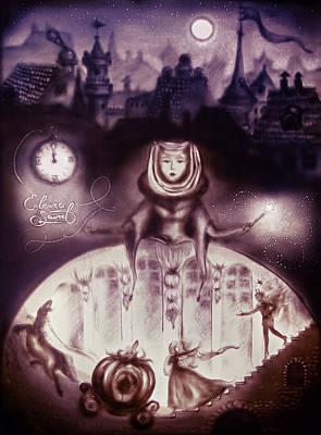 Painting - Cinderella Magic by Elena Vedernikova