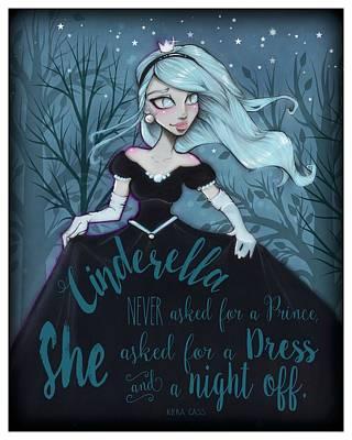 Cinderella Art Print by Margie Forestier