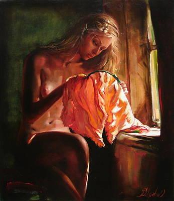 Cinderella Art Print by Sergey Ignatenko