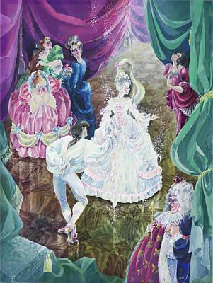 Cinderella. First Ball. Art Print