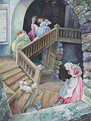 Cinderella. Home. Original by Larisa Yerastova