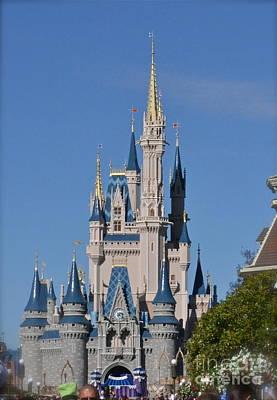 Photograph - Cinderella's Castle by Carol  Bradley