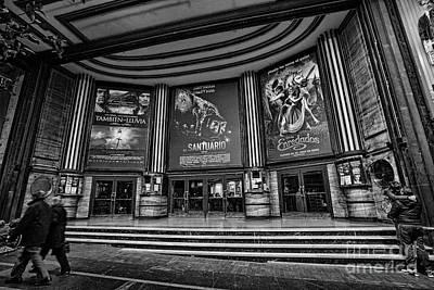 Photograph - Cinema Madrid by Casper Cammeraat