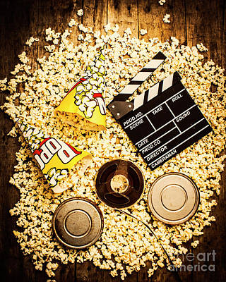 Production Photograph - Cinema Of Entertainment by Jorgo Photography - Wall Art Gallery