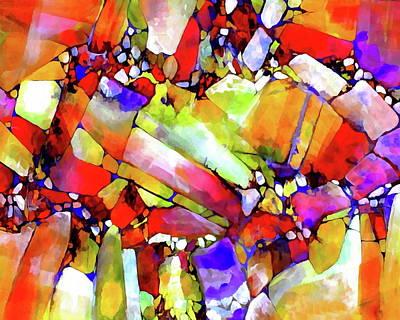 Roper Painting - Cinnabar by Dana Roper