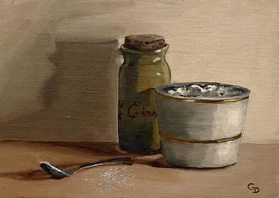 Painting - Cinnamon And Sugar by Grace Diehl