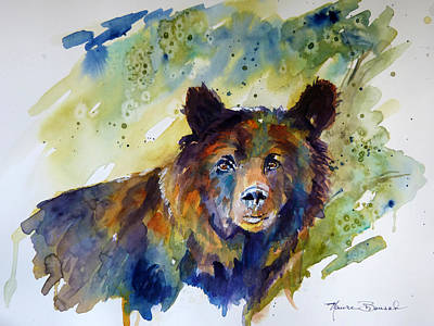 Painting - Cinnamon Bear by P Maure Bausch