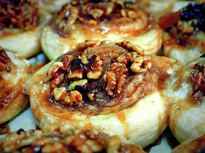 Photograph - Cinnamon Nut Rolls Fro The Dutch Market by Bill Swartwout