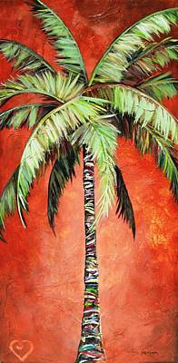 Painting - Cinnamon Palm by Kristen Abrahamson