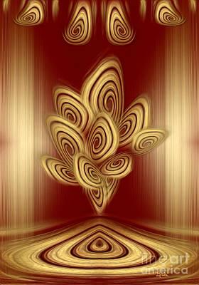 Digital Art - Cinnamon Rolls Show  by Giada Rossi